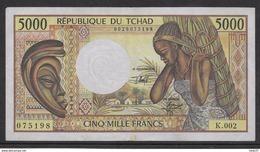 Tchad - 5000 Francs 1984/1991 - Pick N°11 - TTB - Chad