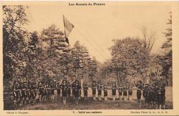 CPA Scoutisme Scout éclaireur Non Circulé  Série Scouts De France - Scoutisme