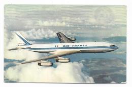 BOEING 707 INTERCONTINENTAL AIR FRANCE - VIAGGIATA FP - 1946-....: Era Moderna