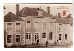 Nocé (Orne) - Hotel De Ville Et Ecoles 1914 - France