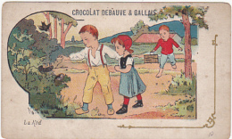 Chromo - Chocolat  Debauve & Gallais - Le Nid - Chocolate