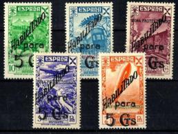 Marruecos  Español Beneficencia Nº 17/21 En Nuevo - Spanish Guinea