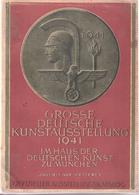 GROSSE DEUTSCHE KUNSTAUSTELLUNG 1941 MUNCHEN KATALOG ART REICH EXPOSITION PROPAGANDE - 1939-45