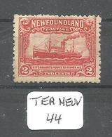 TERRE NEUVE YT 157 Ob - 1908-1947