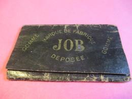 Carnet Papier Cigarettes/JOB /Bardoux/Couverture Souple Noire /Vers 1920-1950  CIG59 - Sigaretten - Toebehoren