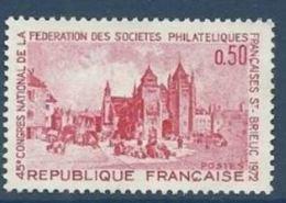 "FR YT 1718 "" Philatélie à Saint-Brieuc "" 1972 Neuf** - Nuovi"