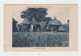 HAUTE VOLTA - MISSION D'OUAGADOUGOU / GRENIERS MOSSIS - Burkina Faso