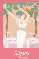 Carte De Visite . 7.5x10.5 Pub RESTAURANT STEFANY . 5 ,Av. Des Ternes PARIS 17° - Cartes De Visite