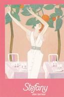 Carte De Visite . 7.5x10.5 Pub RESTAURANT STEFANY . 5 ,Av. Des Ternes PARIS 17° - Visiting Cards