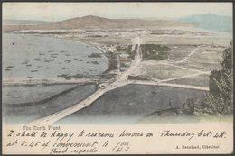 The North Front, Gibraltar, 1906 - Beanland U/B Postcard - Gibraltar