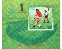 Ref. 53235 * MNH * - EQUATORIAL GUINEA. 1979. 22nd OLYMPIC GAMES. MOSCOW 1980. WORLD FOOTBALL CUP. SPAIN 82 . 22JUEGOS O - Equatorial Guinea
