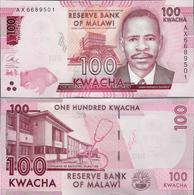 Malawi 2016 - 100 Kwacha - Pick 65 UNC - Malawi