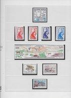 1986 - 1999  Saint Pierre Et Miquelon  N° 455 à 705 . Album Safe Complet Année 1986 à 1999. Valeur Ensemble . 292€ - Collections, Lots & Séries