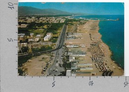 CARTOLINA VG ITALIA - MARINA DI CARRARA Dall'aereo - Lungomare E Spiaggia - 10 X 15 - ANN. 197? - Carrara