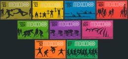 --- 1967 MEXIQUE - Yvert 734 / 735** / A 280 / 283** - Michel : 1236 / 1244** - Mexiko