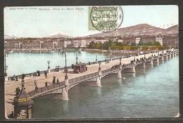 Carte P  De Genève ( Pont Du Mont Blanc ) - GE Genève