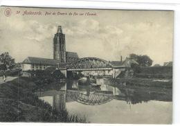 1 Postkaart Oudenaarde Spoorbrug - Oudenaarde
