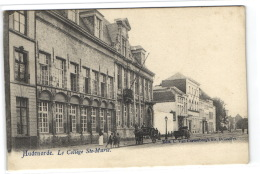 1 Postkaart Oudenaarde Het College Ste. Marie - Hitch - Oudenaarde