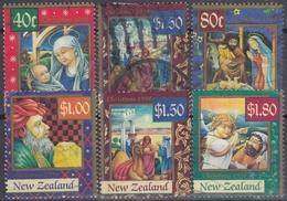 NUEVA ZELANDA 1998 Nº 1643/48 USADO - Nueva Zelanda