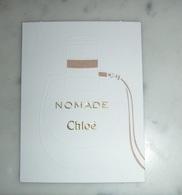 Carte Nomade De Chloé - Perfume Cards