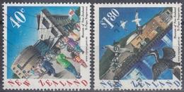NUEVA ZELANDA 1998 Nº 1590/91 USADO - Nueva Zelanda
