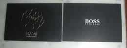 Carte Ma Vie D'Hugo Boss - Perfume Cards