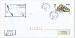 T.A.A.F - Enveloppe - Ile Tromelin - Iles Eparses 22-5-2013 - Le Vaguemestre De Tromelin - French Southern And Antarctic Territories (TAAF)