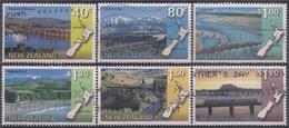 NUEVA ZELANDA 1997 Nº 1548/53 USADO - Used Stamps