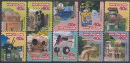 NUEVA ZELANDA 1997 Nº 1537/46 USADO - Nueva Zelanda