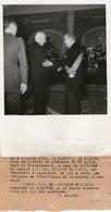 (57) Photo Originale Marchal Petain Pt Laval  Mr Ricardo Oliveira Ambassadeur D'Argentine  Photo Presse18X13cm(bon état) - Famous People