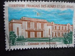 "Timbre TERRITOIRE FRANCAIS AFARS & ISSAS ""CHAMBRE DES DEPUTES"" - France (former Colonies & Protectorates)"