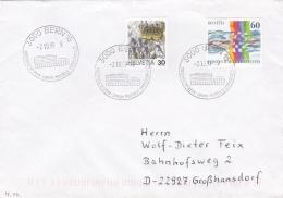 Switzerland  Cover Bern 1999 Weltpostverein Union  (G91-11) - Switzerland