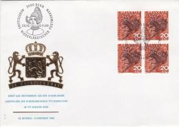 Switzerland  Cover Bern 1966 Ausstellung Niederländischer Postmarken  (G91-11) - Switzerland