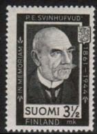 1944 Finland, President Svinhufvud **. - Unused Stamps
