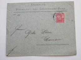 1901 , KÖLN  , Klarer Stempel Auf Firmenbrief, Links Etwas Rauh Geöffnet - Germany