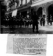 (59) Photo Originale Vichy 1942  Marchal Petain 1er Bataillon Du 150 R I    Photo Presse18X13cm(bon état) - War, Military