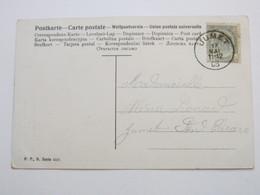 JUMET , 1905 , Carte Postale - 1893-1907 Coat Of Arms