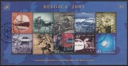 NUEVA ZELANDA 2001 Nº HB-148 USADO - Nueva Zelanda