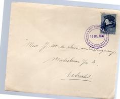 Erasmus Herdenking 1936 (EO-9) - Postal History