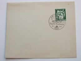1941 , LEIPZIG - Tag Der Briefmarke , Klarer Stempel Auf Brief - Germany