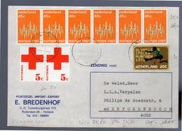 Parcel Cut Out  Europa (EO-11) - Period 1949-1980 (Juliana)