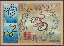NUEVA ZELANDA 2001 Nº HB-144 USADO - Nueva Zelanda