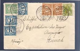 1920 14 Cents Rate! Den Haag > Zürich (EO-13) - Period 1891-1948 (Wilhelmina)