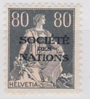 SUISSE 1922 STE DES NATIONS CATALOGUE  SBK N° 11* - Switzerland