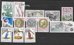 MONAC0 1939 à 1947/1951/1952/1957 à 1959 Neufs** - Monaco