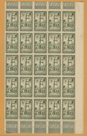 8Fc-985:  N° 149  In Blok V.25 : XX = Postfris: .. Om Verder Uit Te Zoeken.. - Unused Stamps