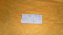 LETTRE ANCIENNE DE 1846. / ECULLY RHONE A ?. IDENTIFIER./ CACHET DONT CL ET LETTRE K. / + TAXE. - Postmark Collection (Covers)