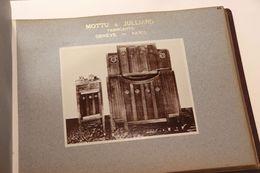 1910-1920 Mottu & Julliard Meubles Fabricants ébénistes Genève Paris 121 Photos - Métiers