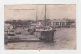 A.O.F. - SENEGAL - DAKAR / LES QUAIS - Senegal