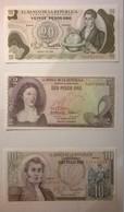 Lot De 3 Billets De Banque  COLOMBIE - Colombia